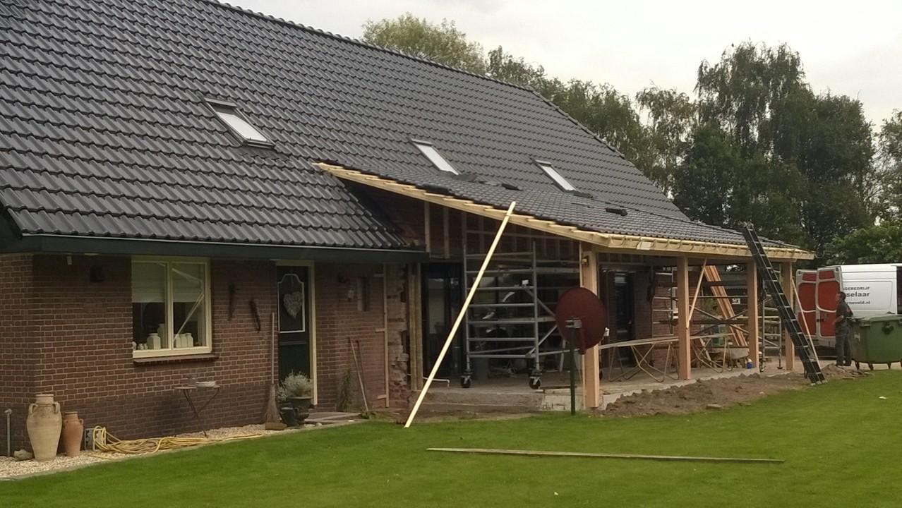 """Verbouwing van het achterhuis van boerderii te """"Putten"""""""